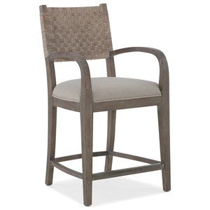 Hooker Furniture Miramar - Carmel O'Keefe Counter Stool