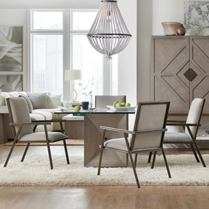 Hooker Furniture Miramar - Carmel 5 Piece Table and Chair Set