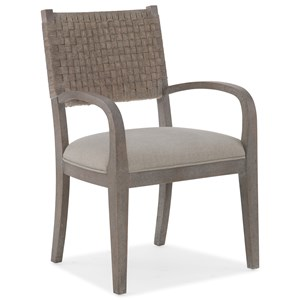 Hooker Furniture Miramar - Carmel Artemis Woven Arm Chair