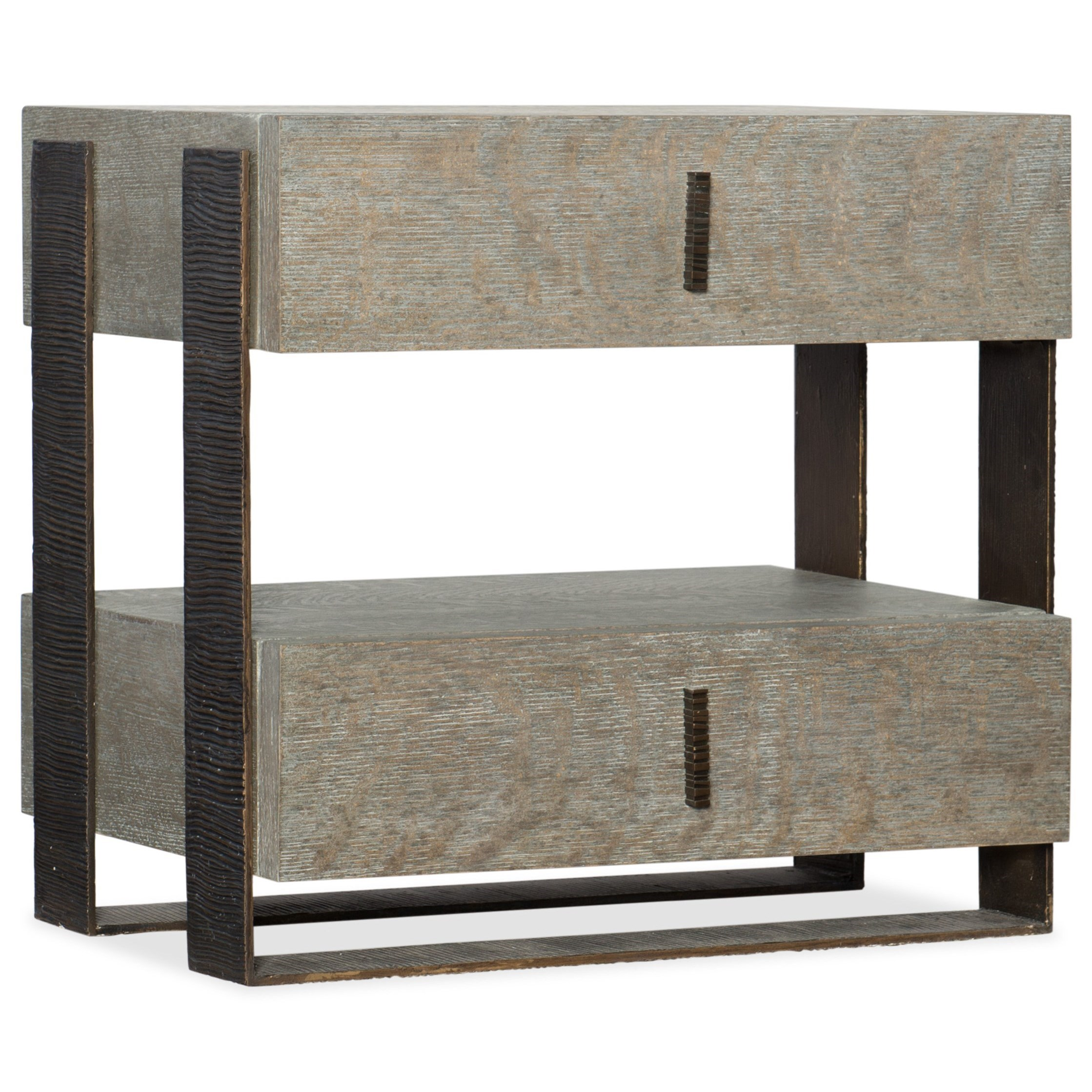 Caspian Two Drawer Telephone Table