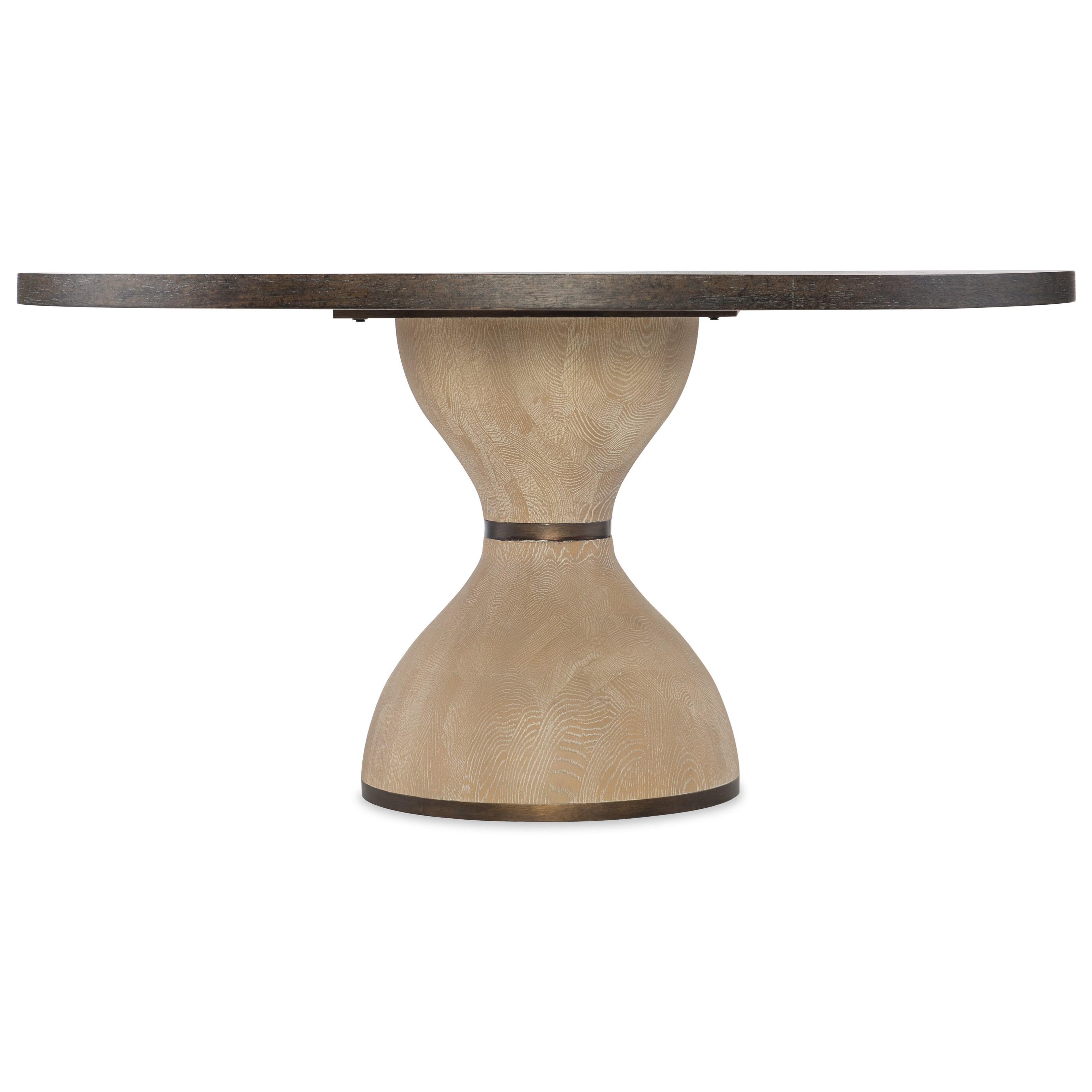 "Miramar - Point Reyes Botticelli 60"" Dining Table by Hooker Furniture at Baer's Furniture"