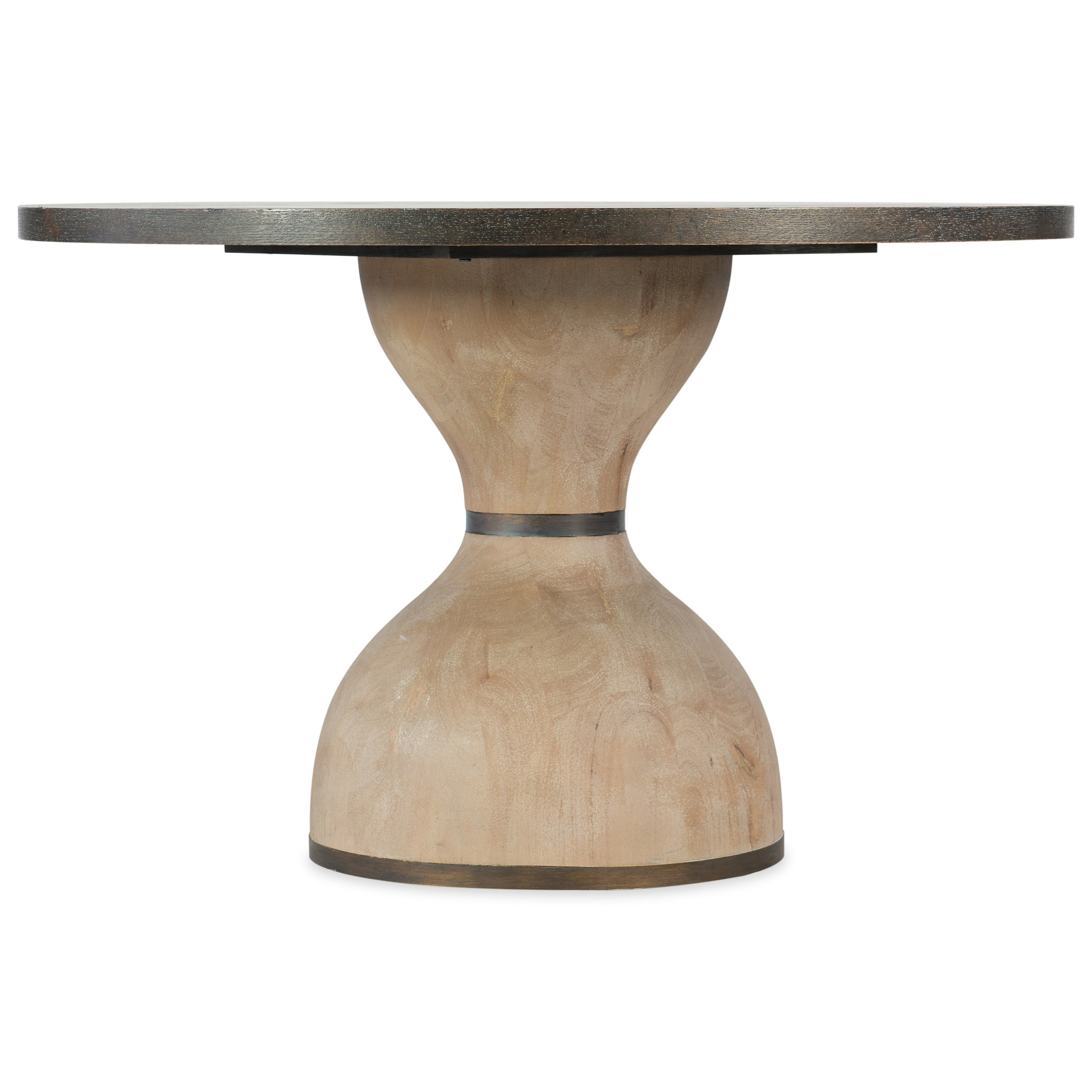 "Miramar - Point Reyes Botticelli 48"" Dining Table by Hooker Furniture at Baer's Furniture"