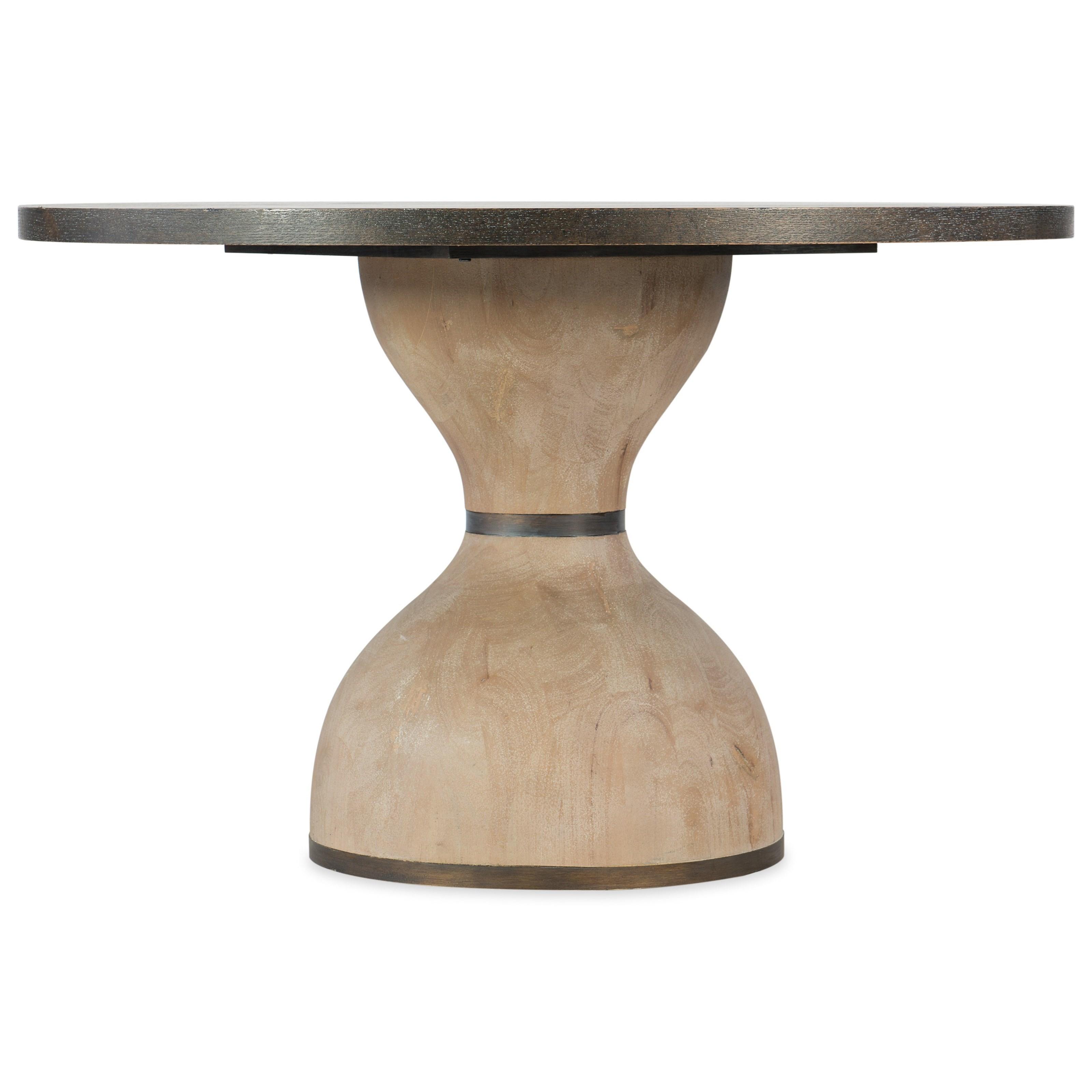 "Miramar - Point Reyes Botticelli 48"" Dining Table by Hooker Furniture at Stoney Creek Furniture"
