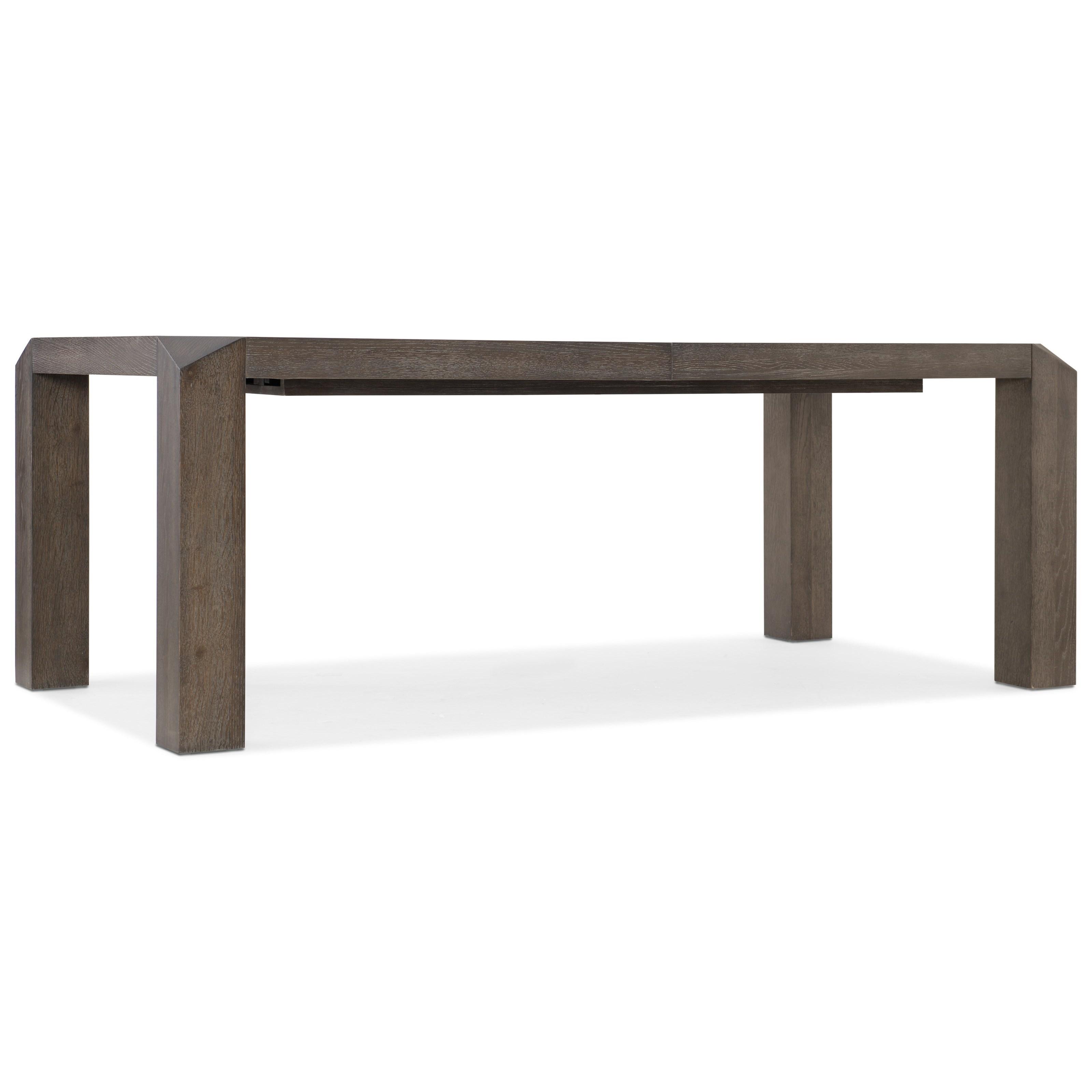 Miramar Aventura Vermeer 82in Leg Dining Table by Hooker Furniture at Stoney Creek Furniture