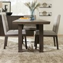 Hooker Furniture Miramar Aventura 4 Piece Adjustable Table and Chair Set - Item Number: 6202-75206-DKW+3x75410-DKW