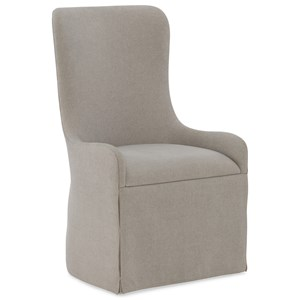 Hooker Furniture Miramar Aventura Gustave Upholstered Host Chair