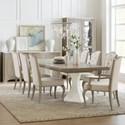 Hooker Furniture Modern Romance Formal Dining Room Group - Item Number: 1652 Dining Room Group 1