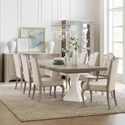 Hooker Furniture Modern Romance Formal Dining Room Group - Item Number: 1652 Dining Room Group 2