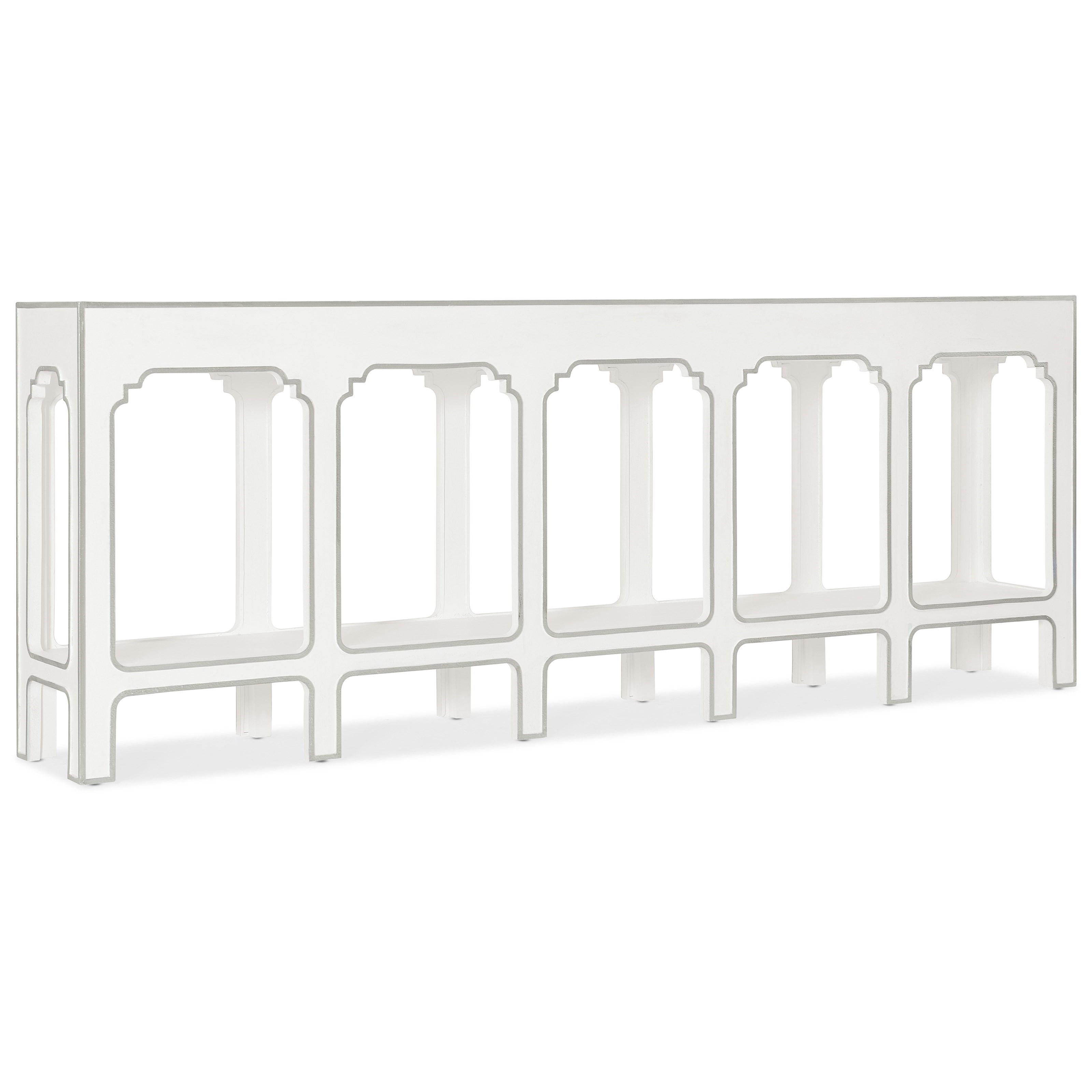 Modern Romance Console Table by Hooker Furniture at Stoney Creek Furniture