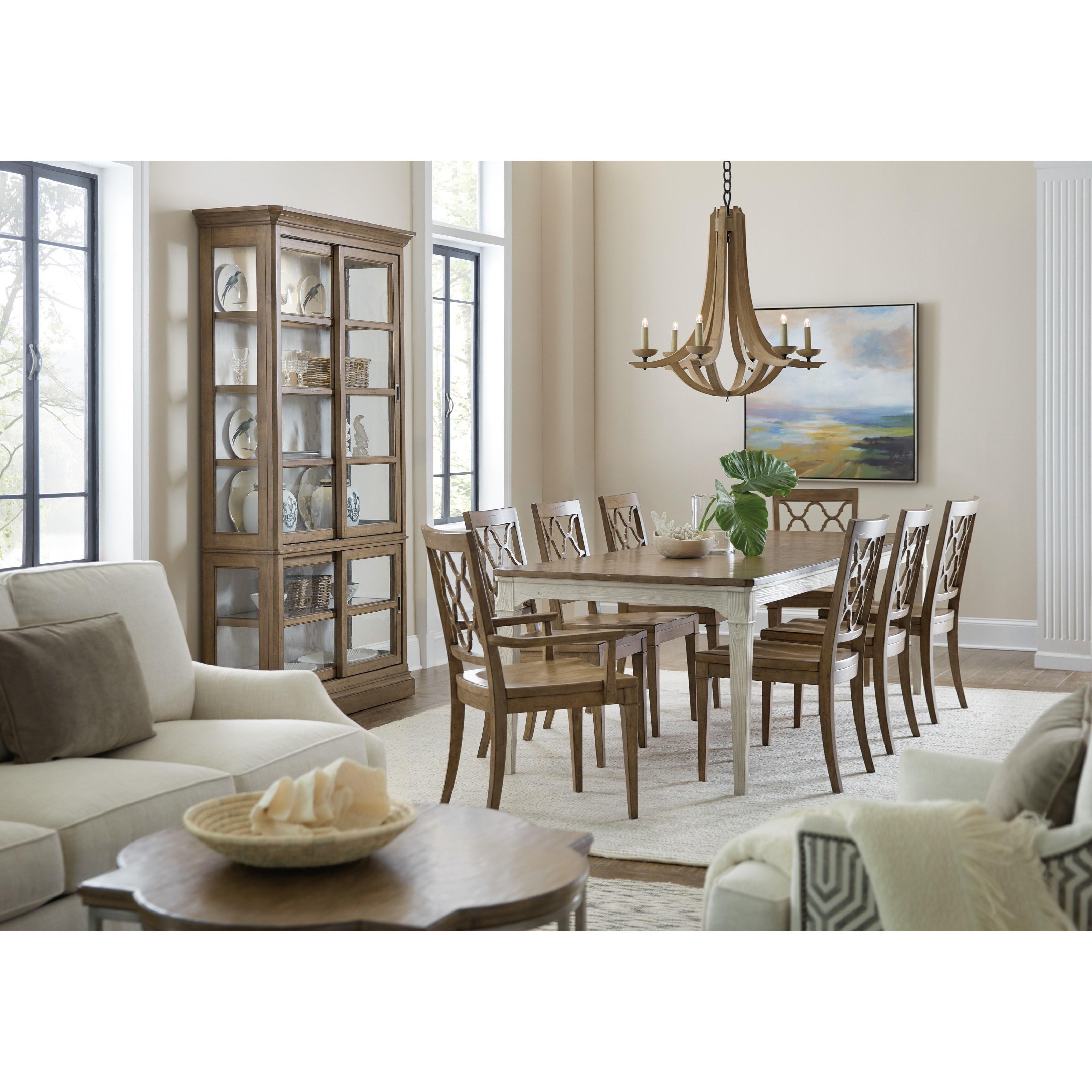 Montebello Formal Dining Room Group by Hooker Furniture at Baer's Furniture