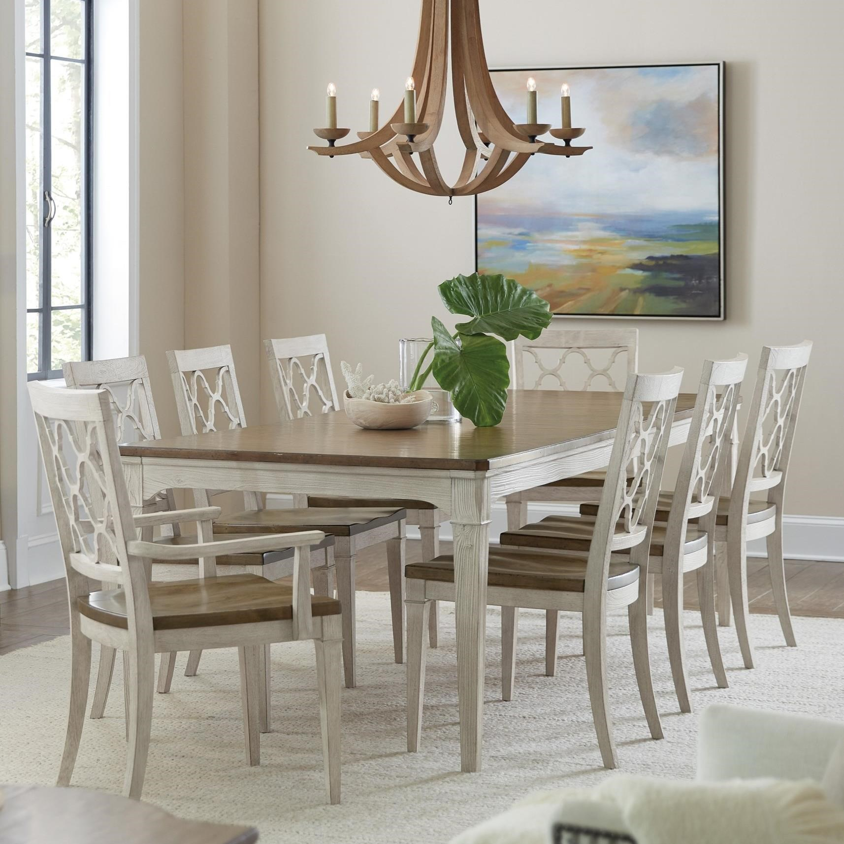 Hooker Furniture Montebello 9 Piece Dining Set With 82 Inch Rectangular Table Stoney Creek Furniture Dining 7 Or More Piece Sets