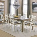 Hooker Furniture Montebello 9-Piece Dining Set - Item Number: 6102-75200-80+2X75300-80+6X75310-80