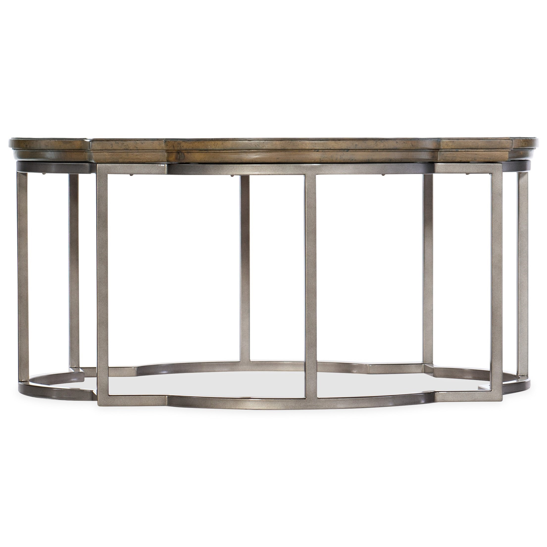 Montebello Round Cocktail Table by Hooker Furniture at Stoney Creek Furniture