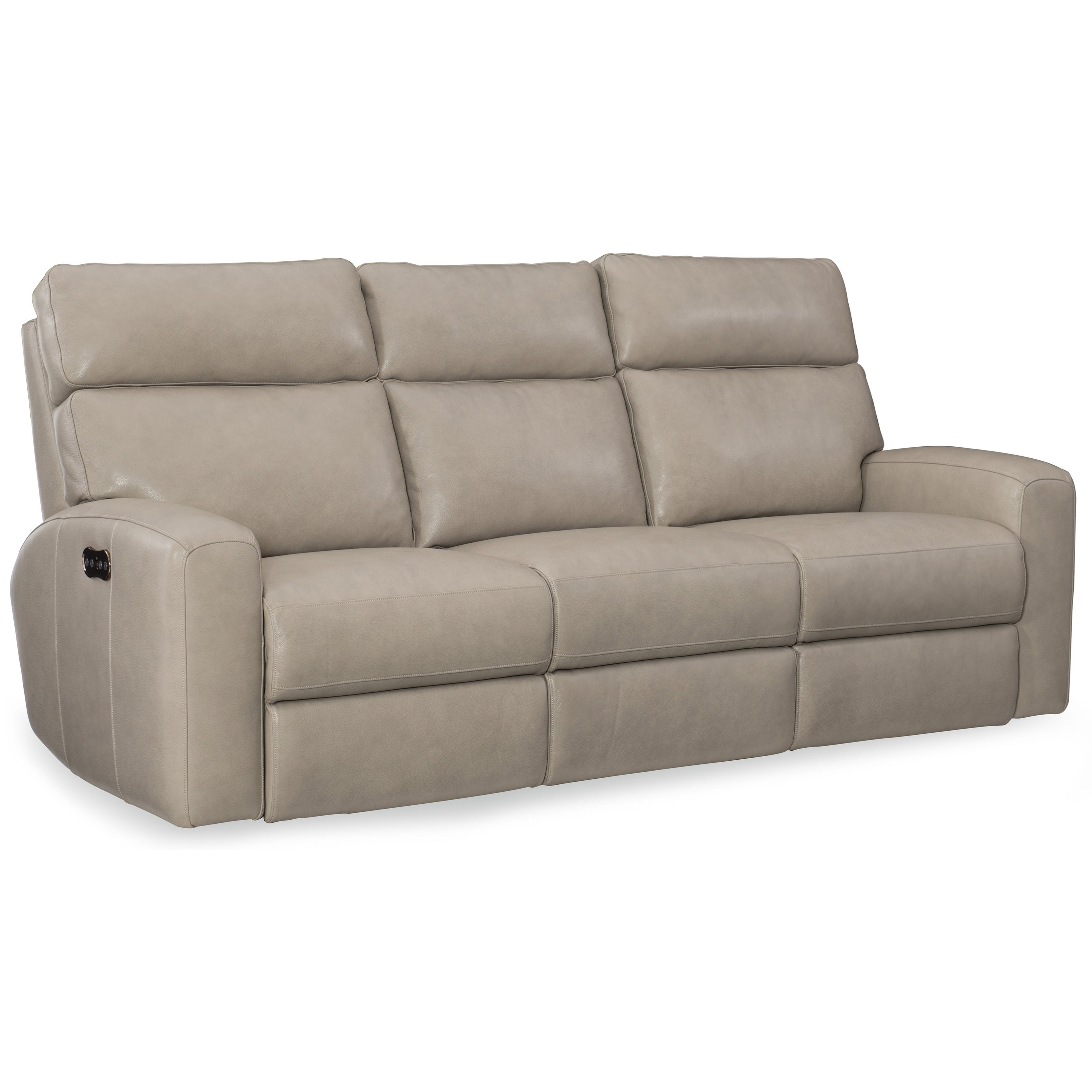 Mowry Power Motion Sofa w/Pwr Hdrest by Hooker Furniture at Baer's Furniture