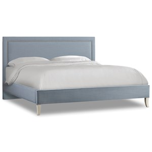 Hooker Furniture Nest Theory Finch 62in Queen Upholstered Bed