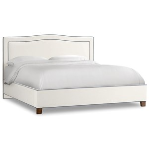 Hooker Furniture Nest Theory Willow 64in Queen Upholstered Bed