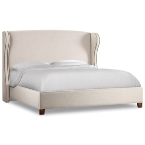 Hooker Furniture Nest Theory Heron 52in Queen Upholstered Bed