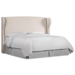 Hooker Furniture Nest Theory Heron Queen Upholstered Headboard