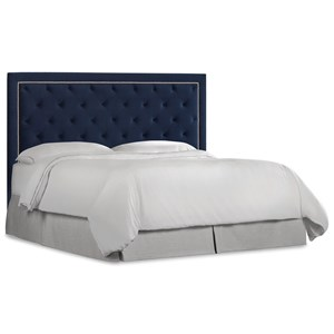 Hooker Furniture Nest Theory Jay Queen Upholstered Headboard