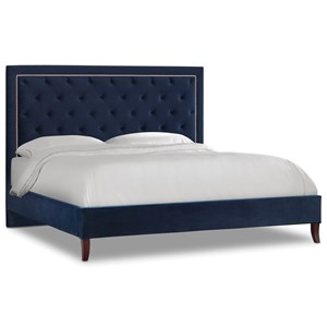 Hooker Furniture Nest Theory Jay 62in Queen Upholstered Bed