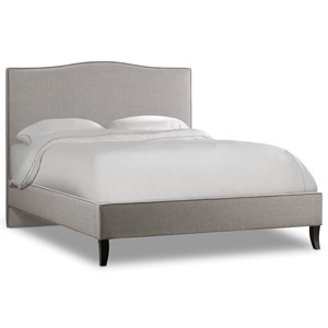 Hooker Furniture Nest Theory Wren 54in Queen Upholstered Bed