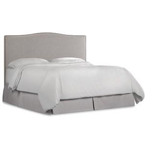 Hooker Furniture Nest Theory Wren 54in King Upholstered Headboard