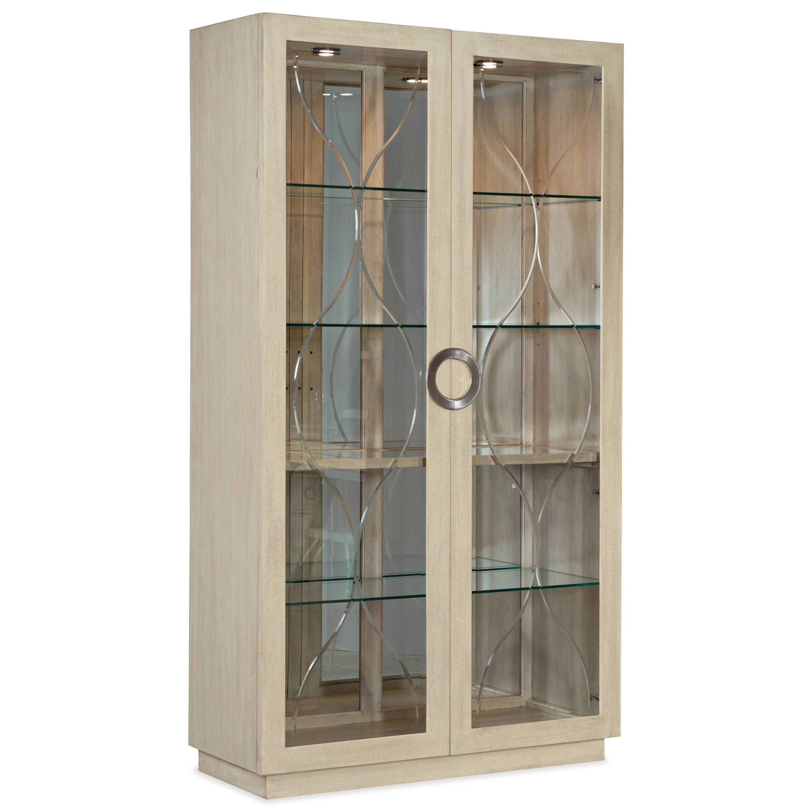 Newport Display Cabinet by Hooker Furniture at Stoney Creek Furniture