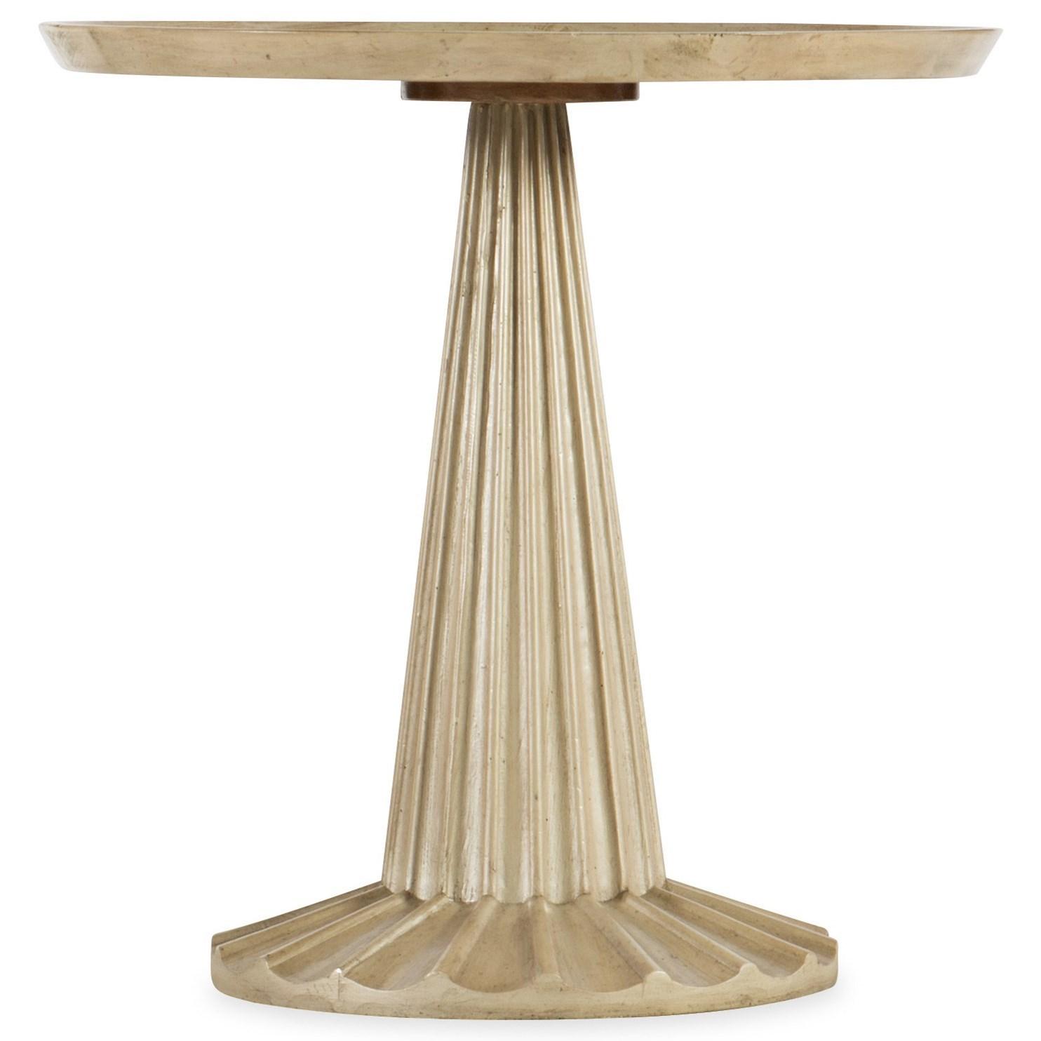 Pompnio Round Accent Table