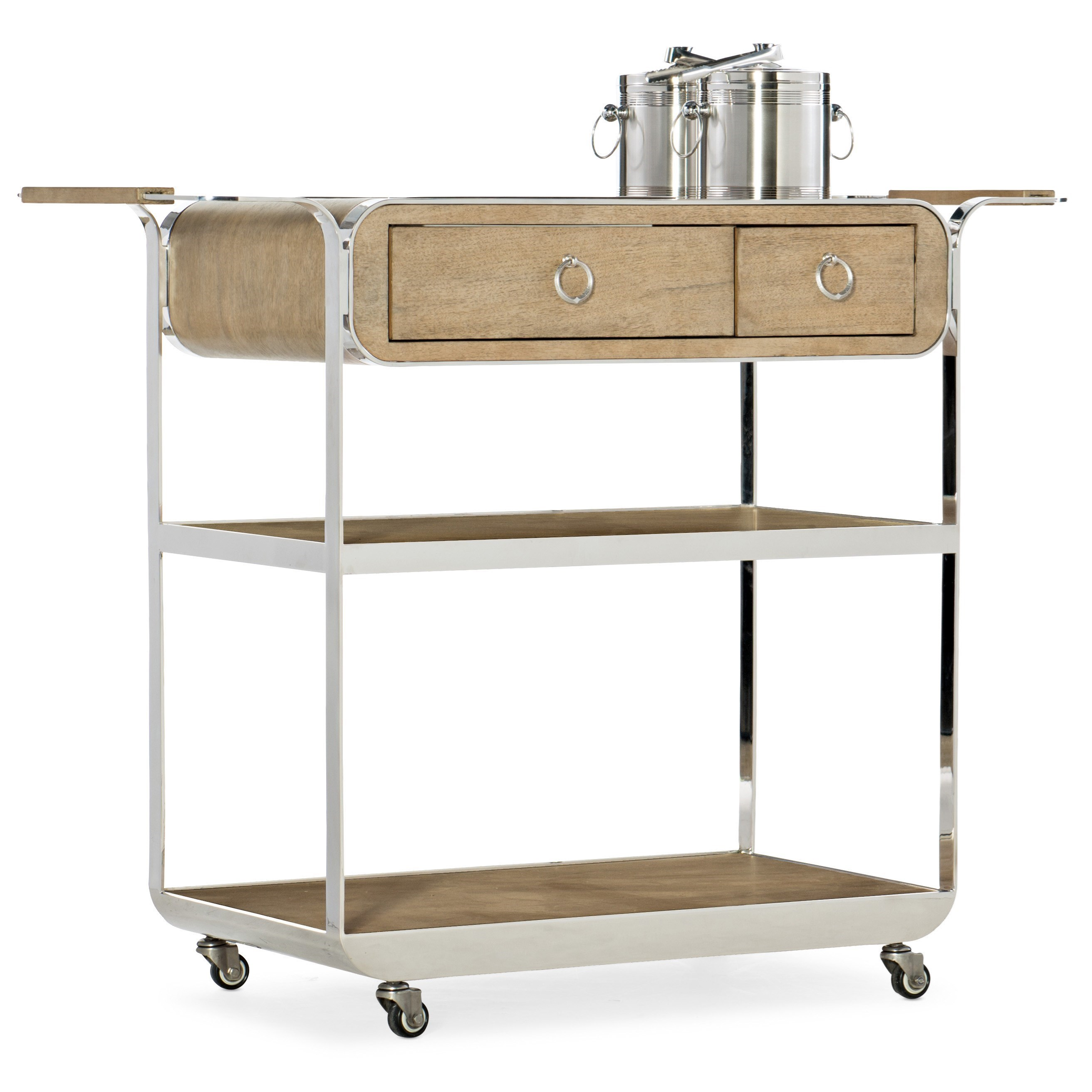 Poplar Beach Bar Cart
