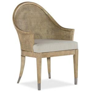 Purisma Creek Raffia Host Chair