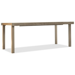 "Hooker Furniture Pacifica 78"" Rectangle Dining Table with 2-18"" Leaves"