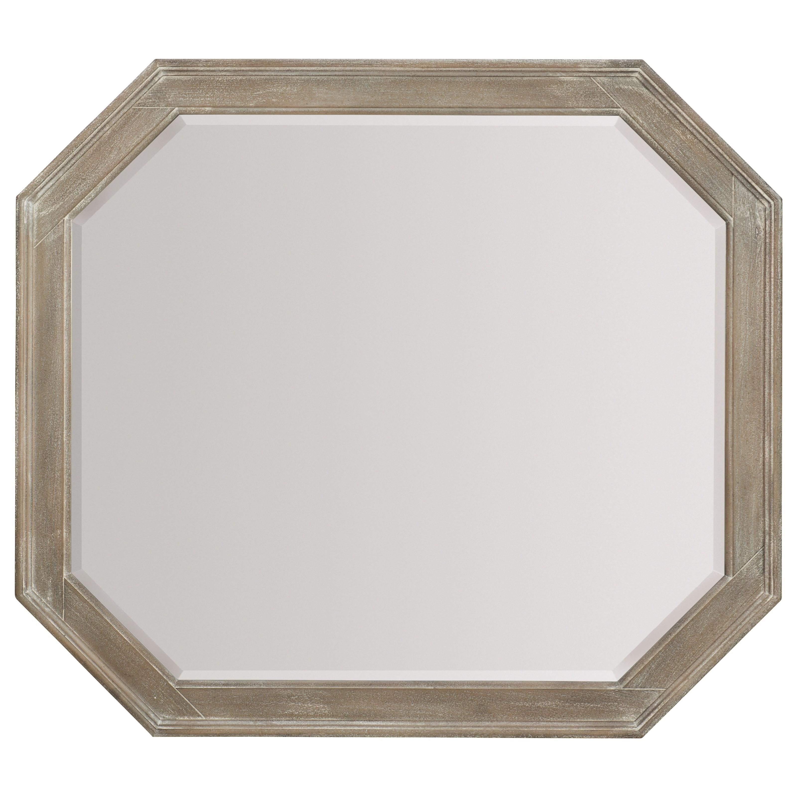Hooker Furniture Pacifica Octagonal Mirror - Item Number: 6075-90007-LTWD
