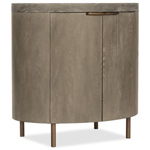 Hooker Furniture Pacifica Two Door Oval Nightstand