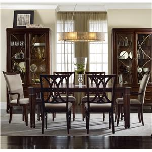 Hooker Furniture Palisade 7 Piece Dining Set