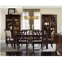 Hooker Furniture Palisade Rectangular Dining Table with Spade Feet