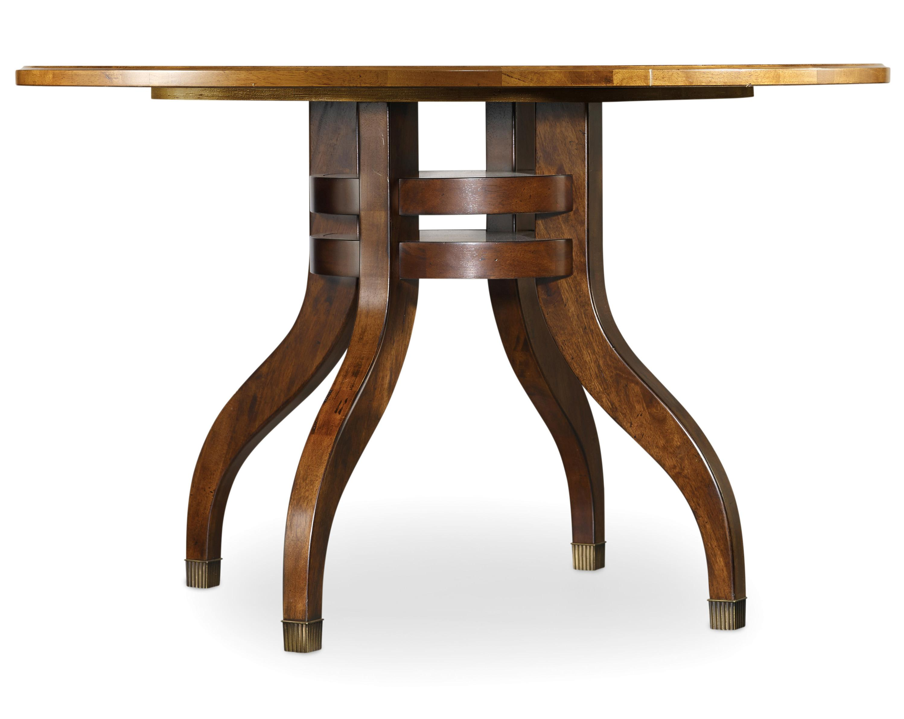 Hooker Furniture Palisade 48 Inch Round Dining Table - Item Number: 5183-75201