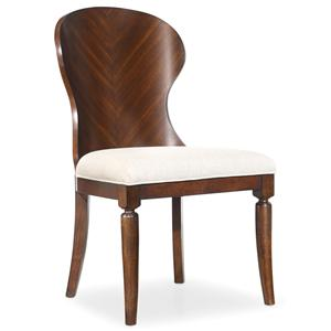 Hooker Furniture Palisade Wood Back Side Chair