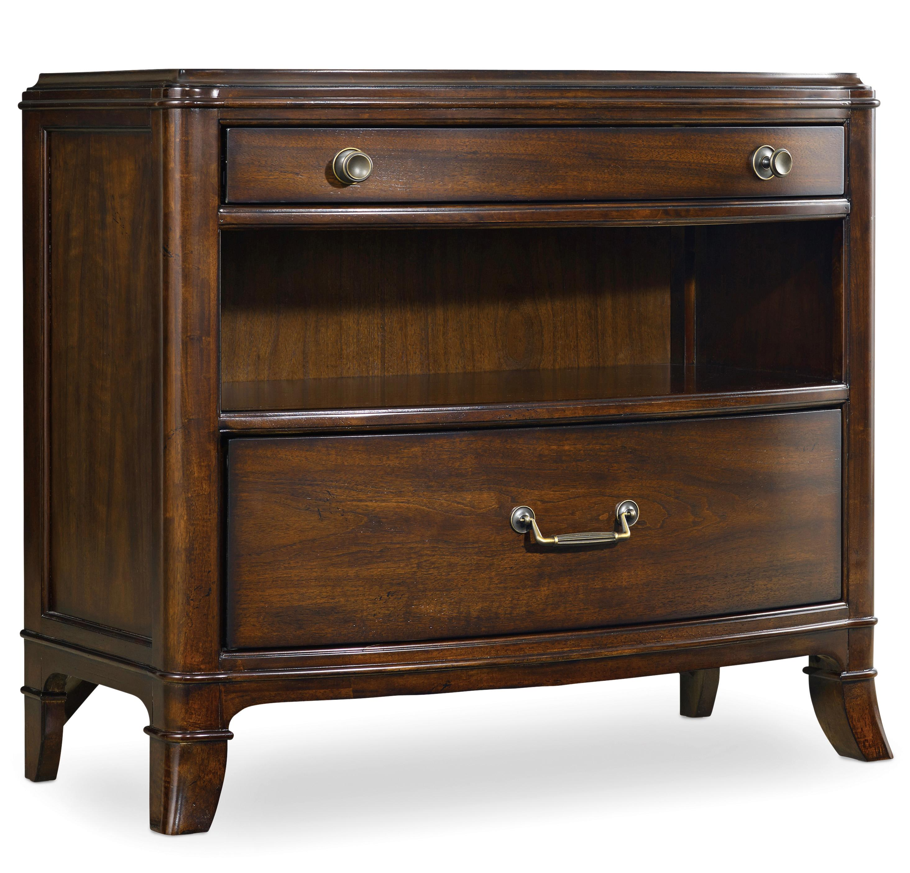 Hooker Furniture Palisade 2 Drawer Nightstand - Item Number: 5183-90116