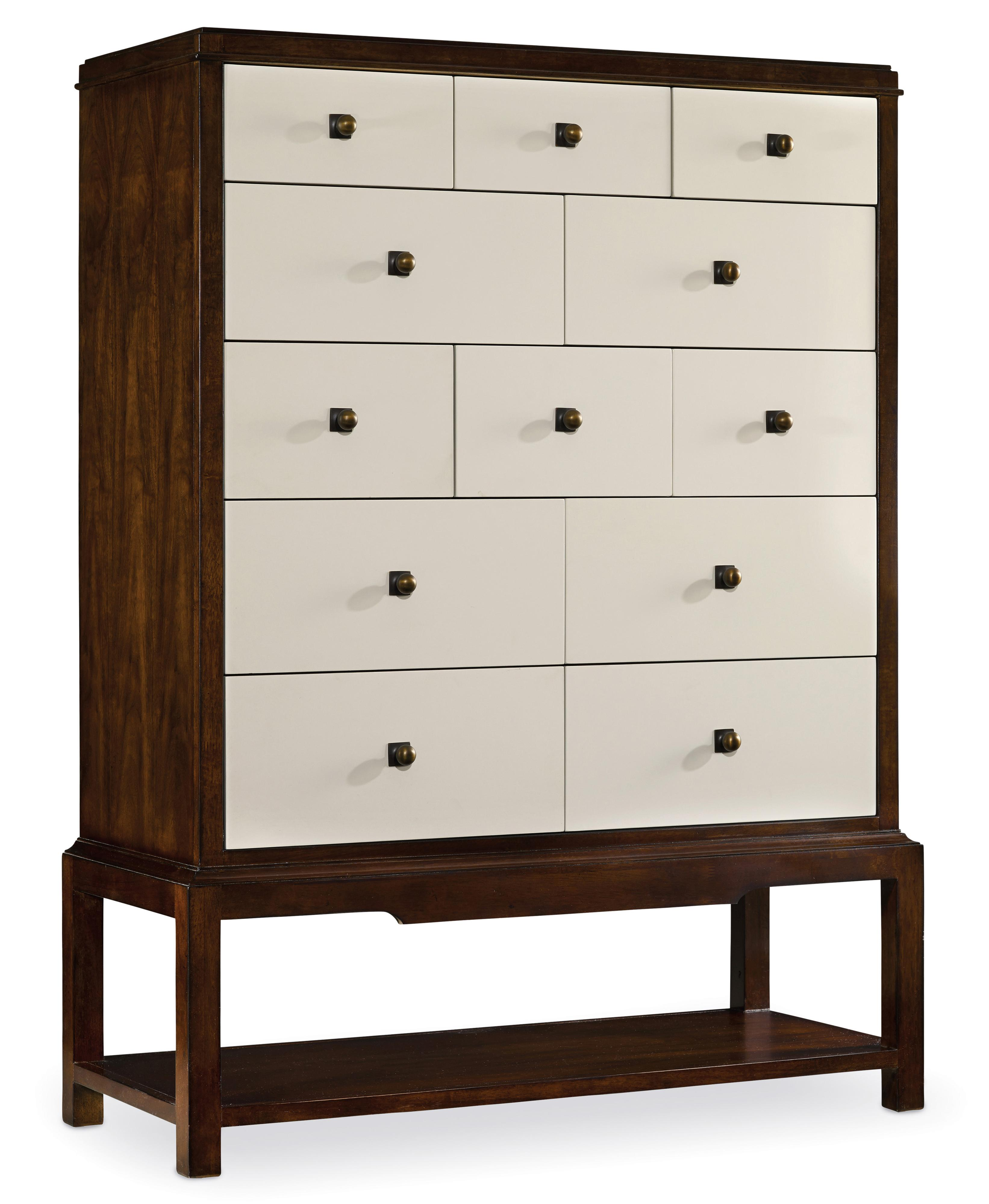 Hooker Furniture Palisade 12 Drawer Chest - Item Number: 5185-90110