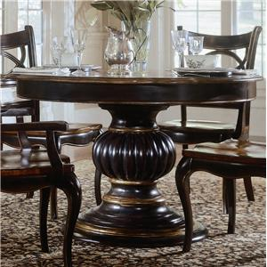 Hooker Furniture Preston Ridge Pedestal Dining Table