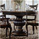 Hooker Furniture Preston Ridge Pedestal Dining Table - Item Number: 864-75-201