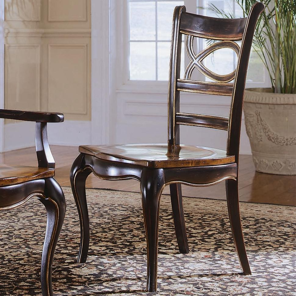 Hooker Furniture Preston Ridge Oval Back Dining Side Chair - Item Number: 864-75-310