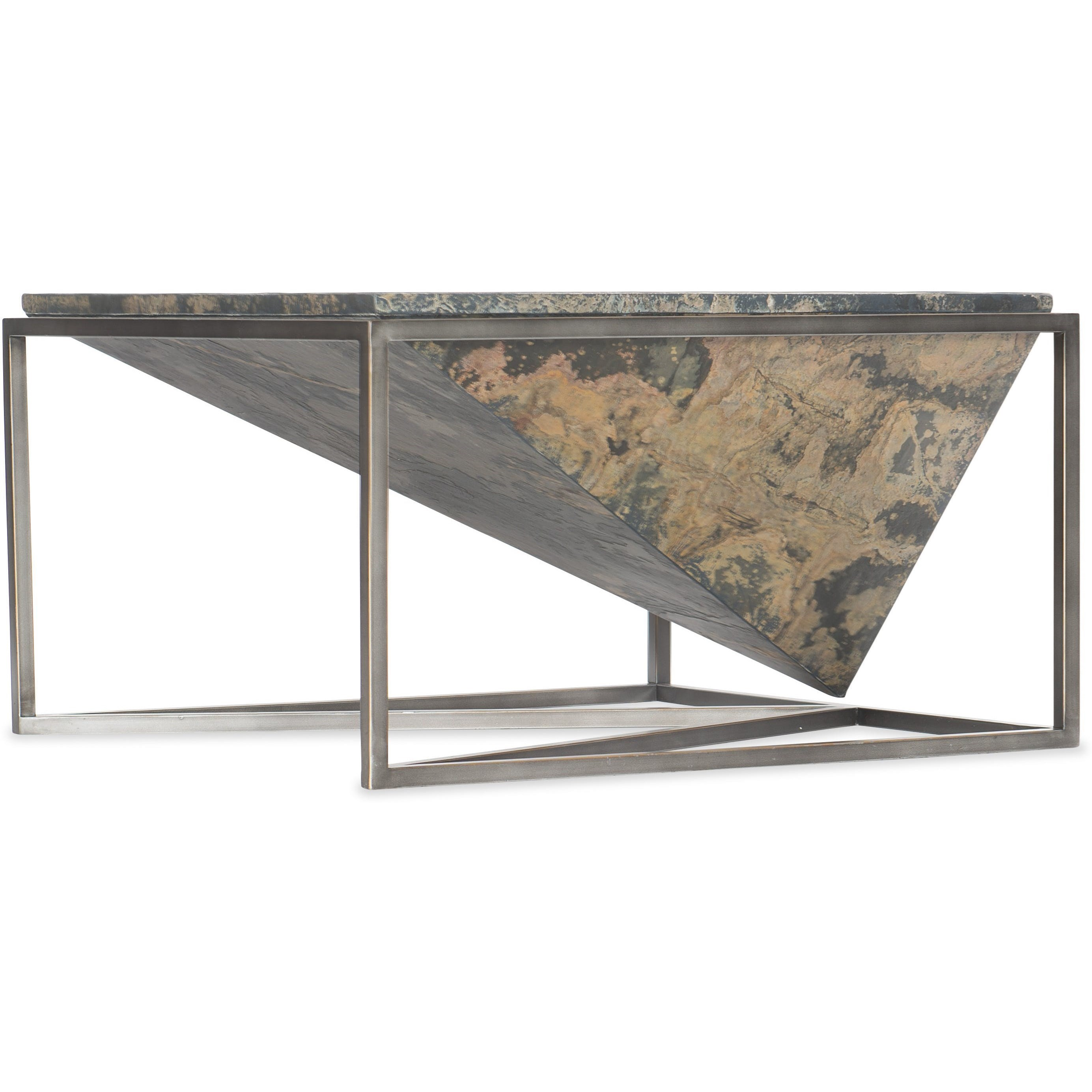 Princess Cut Square Cocktail Table by Hooker Furniture at Stoney Creek Furniture