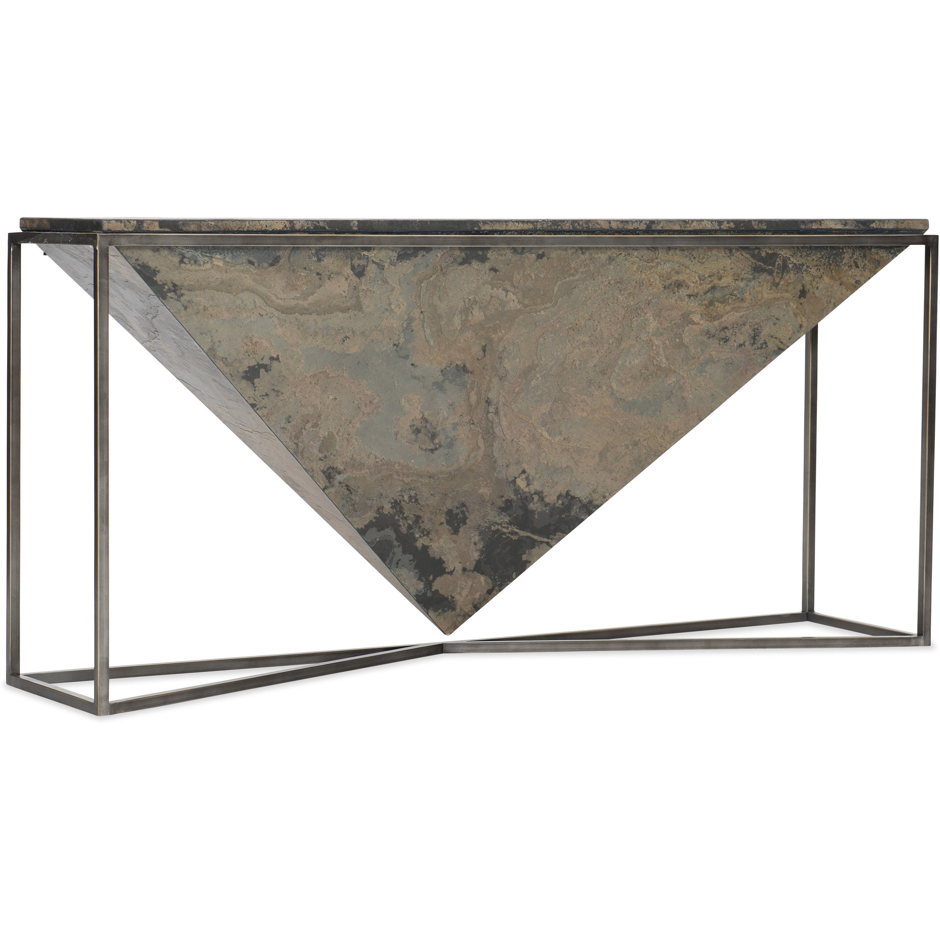 Princess Cut Console Table by Hooker Furniture at Baer's Furniture