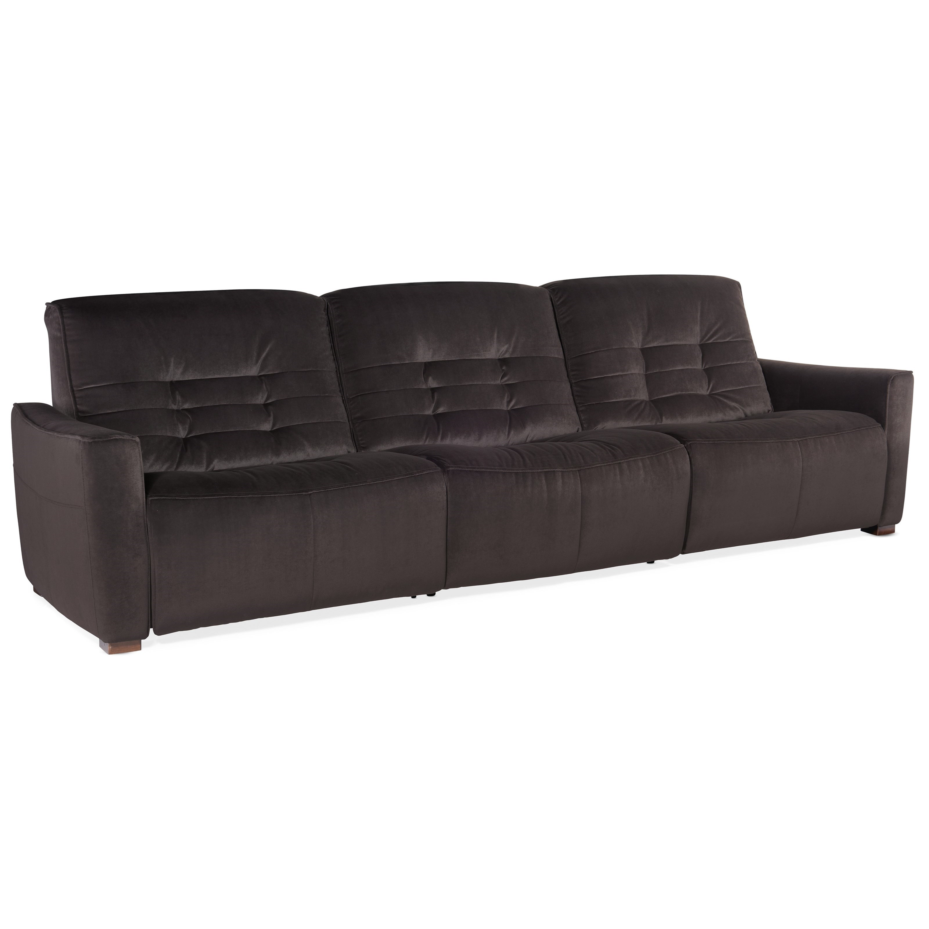 Reaux 3-Piece Sofa w/ 3 Power Recliners by Hooker Furniture at Baer's Furniture