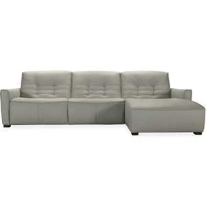 Power Motion Sectional with RAF Chaise