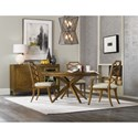 Hooker Furniture Retropolitan Casual Dining Room Group - Item Number: 5510 Dining Room Group 2