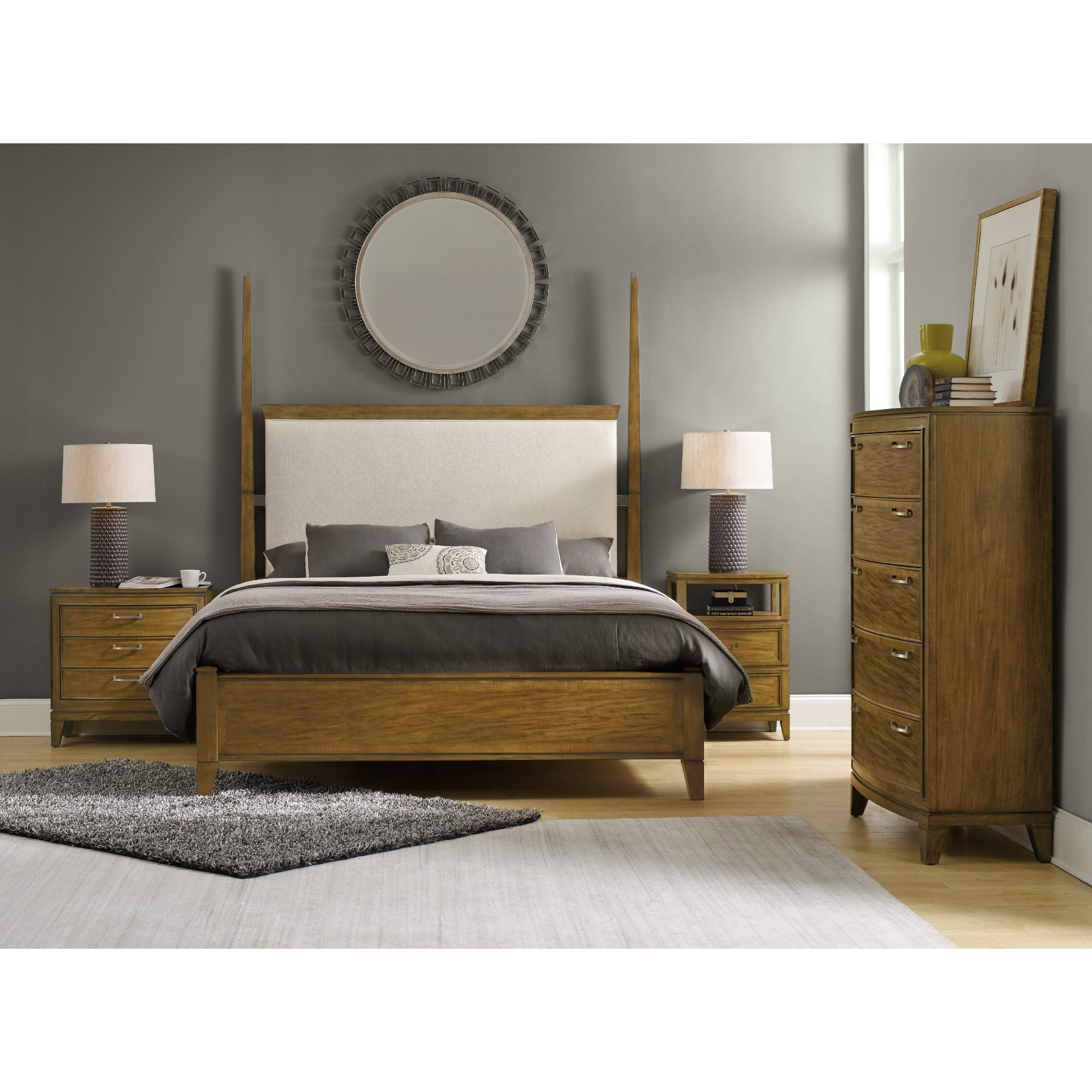 Hooker Furniture Retropolitan King Bedroom Group - Item Number: 5510 K Bedroom Group 1