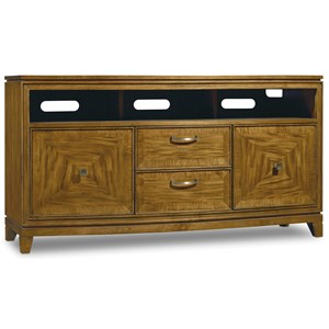 Hooker Furniture Retropolitan Entertainment Console