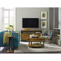 Hooker Furniture Retropolitan Entertainment Console with Sound Bar Shelf